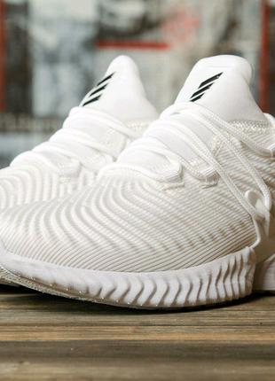 Кроссовки женские 16431 ► Adidas AlphaBounce Instinct, белые.