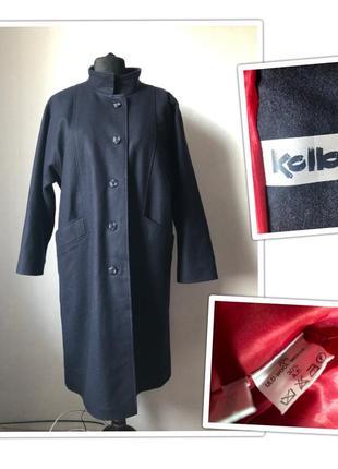 Шерстяное пальто унисекс