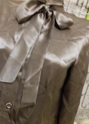 Шелковая блуза max& co max&co