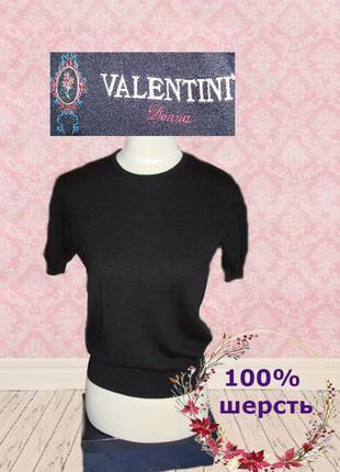 🦄🦄valentini donna 100% шерсть стильный женский свитер короткий...