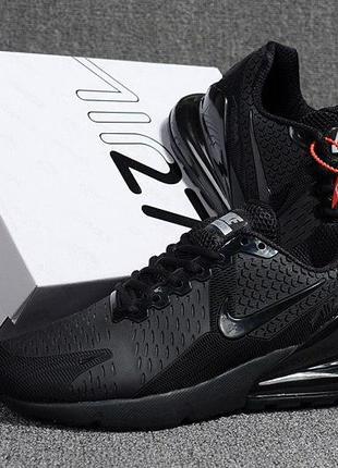 Строгие мужские черные кроссовки