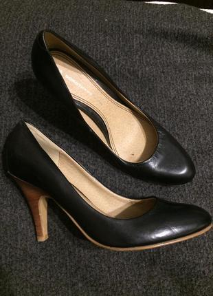 Dorothy perkins кожаные туфли