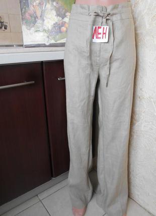 #tu#базовые льняные брюки#большой размер 16 #