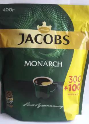 Кофе JACOBS Monarch, растворимый, 400g