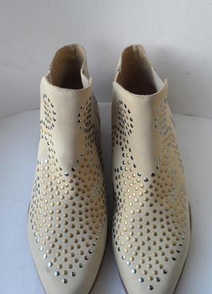 Обалденные нубуковые ботинки челси san marina