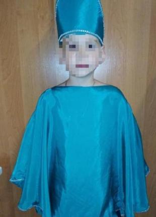 Карнавальный костюм детский весна,лето, ёлочка на 4-10 лет
