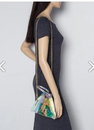 Маленькая галограмная сумочка