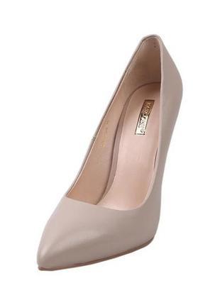 Туфли на шпильке  basconi натуральная кожа, коллекция 2020