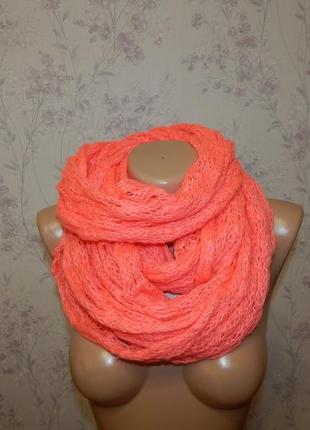 Фирменный ажурный шарф, хомут, снуд accessorize