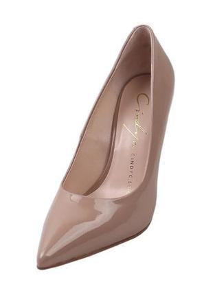 Туфли на шпильке cindy c.eric натуральная лаковая кожа, коллек...