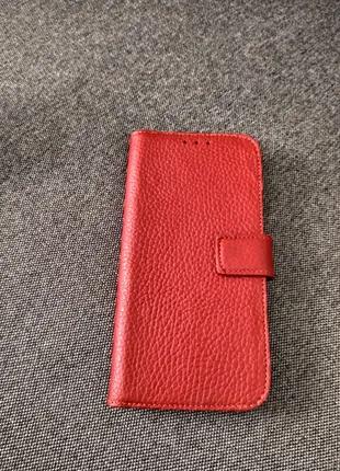 Чехлы кожаные 100%  для телефонов с бампером