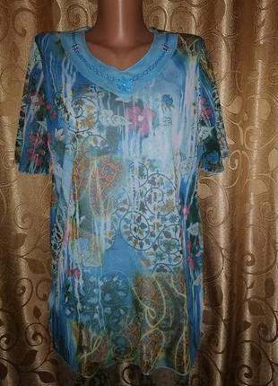 🌺🎀🌺красивая женская футболка, блузка werner otto strabe🔥🔥🔥