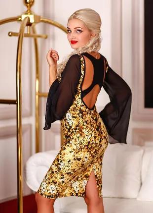 Платье праздничное облегающее, платье коктельное