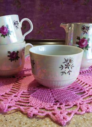 Набор для чая или кофе гдр, kahla