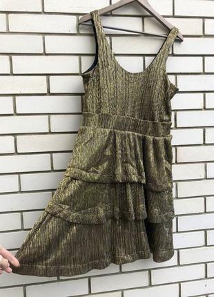 Вечернее платье,сарафан с воланами,рюшами,открытая спина,много...