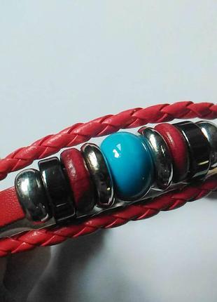 Новый кожаный браслет.