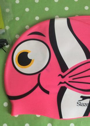 Slazenger шапочка для плаванья 5-7лет