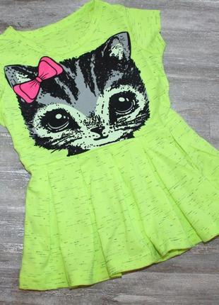 Платье на лето для девочек 86-116см