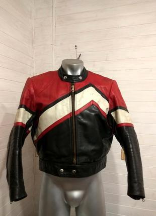Мужская кожаная куртка ducati