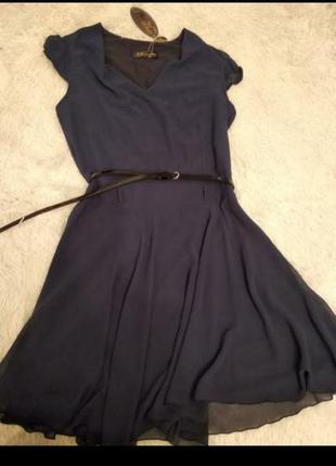 Платье шифон размер 44(38)