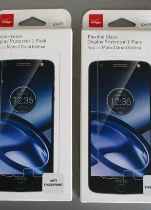 Фирменное гибкое защитное стекло для Motorola Moto Z Droid xt1650