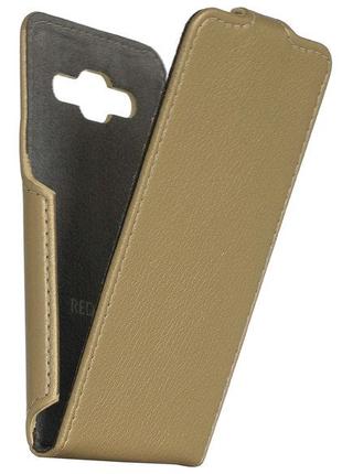 Чехол RP Flip Case Samsung Galaxy J2 Prime G532 gold