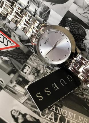 Часы guess c коллекции dress steel