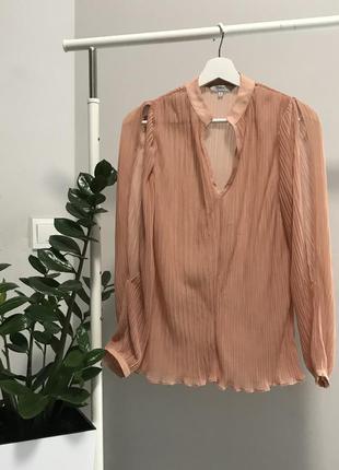 #розвантажуюсь шифонова блуза пліссе