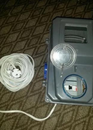 Счетчик однофазный NIK 2102-02, мобильный!+коробка+кабель+тумблер