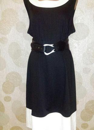 Модное платье миди  с принтом большого размера распродажа