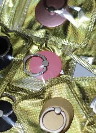 Кольцо держатель-подставка для телефона