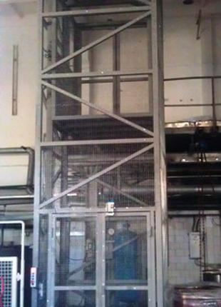 Лифт-Подъёмник Грузовой Электрический Шахтный. Лифты