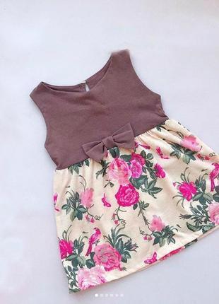 Стильное платья для девочки
