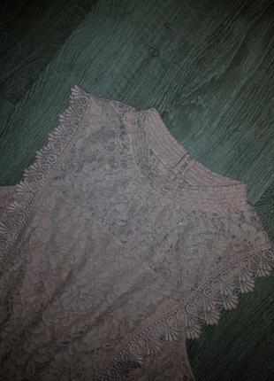 Невероятное нежное кружевное ажурное  платье- talula blush