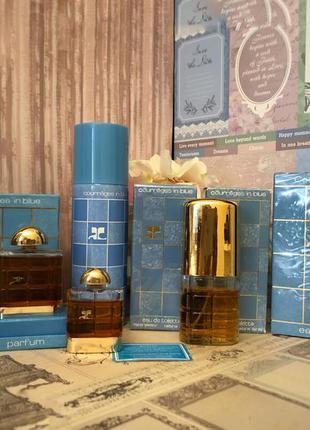 Духи винтажные courreges in blue, 7,5 мл