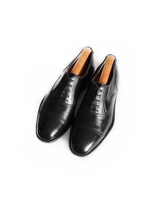 Кожаные туфли броги оксфорды gravati оригинал италия