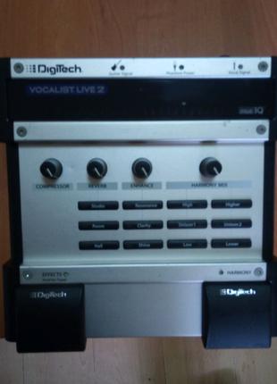Digitech vocalist live 2 гармонайзер вокальний гітарний процессор