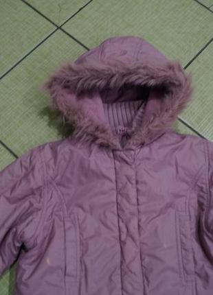 Куртка на девочку 9-10 лет