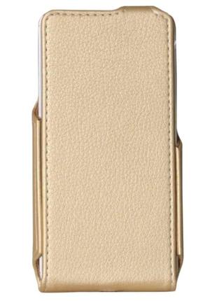 Чехол Flip Case Xiaomi Redmi 4X Gold