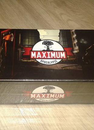 Настольная игра Maximum Apocalypse (Максимум Апокалипсиса)
