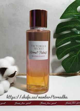 Мист для тела victoria's secret velvet petals sunkissed