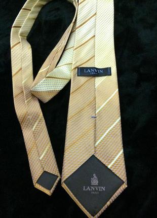 Lanvin paris галстук