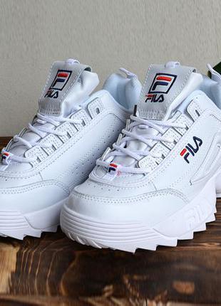 Кроссовки Fila Disruptor White · размер 40-й · фила белые