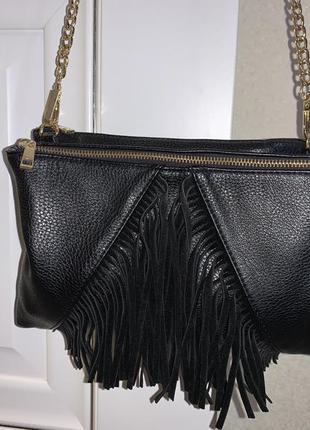 Женская сумка zebra, сумка на плечо
