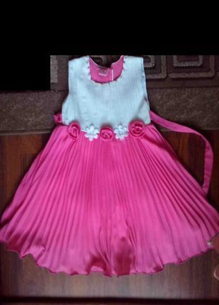 Платье нарядное для девочки 4 лет