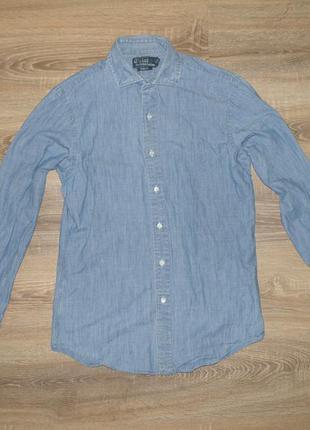 Рубашка ralph lauren slim fit
