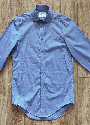Рубашка calvin klein slim fit