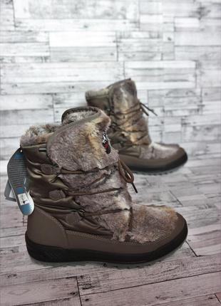 Зимові чобітки/сапоги /дутики / луноходы skandia-tex 40р (мемб...