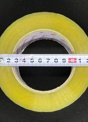 Скотч упаковочный прозрачный 500 метров/45 микрон (36 шт/ящ)