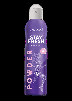 Женский дезодорант powder farmasi